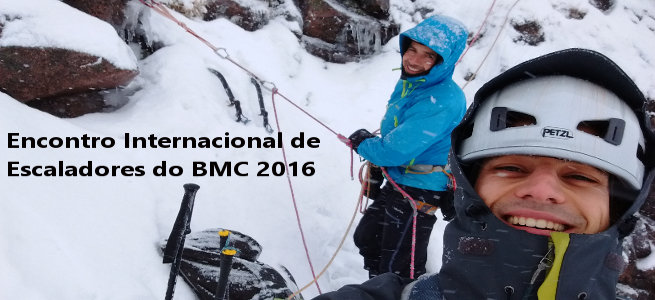 Encontro Internacional de Escaladores do BMC 2016