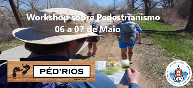 Workshop sobre pedestrianismo - PED`RIOS